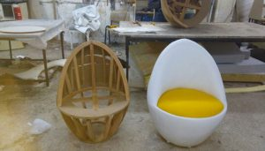 Yumurta koltuk modeli